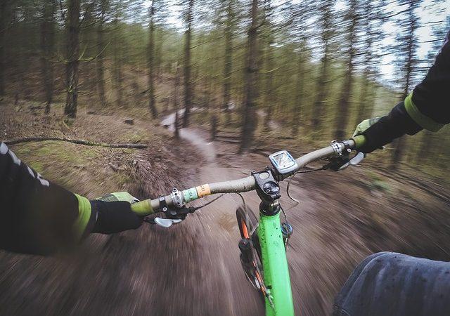 Mountain Bikes and Trails Intorno a Mesa, in Arizona