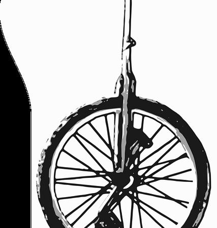 Imparare a guidare un monociclo, tipi e dimensioni di monocicli per i principianti