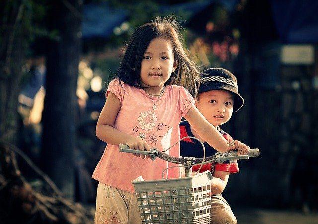 Sicurezza bici per bambini in età prescolare