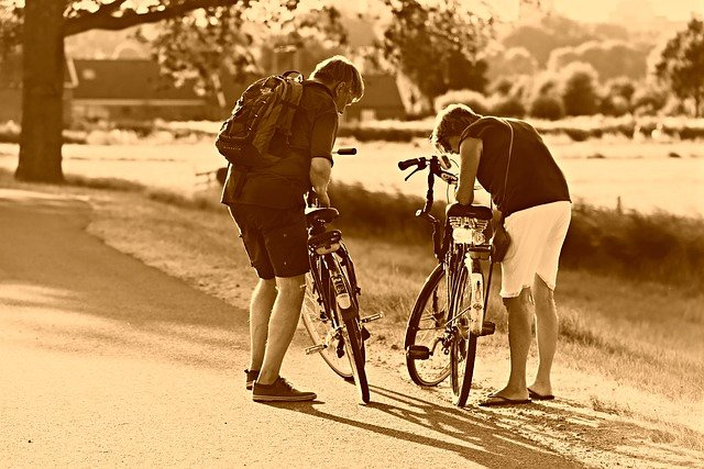Come mantenere le parti della bicicletta