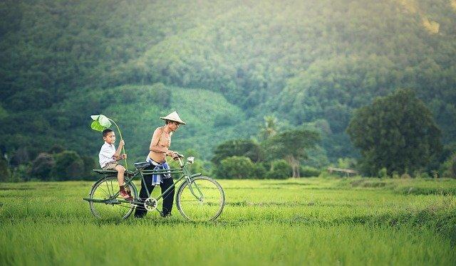 Una bicicletta è l'accessorio perfetto per il tempo libero